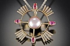 Compass Rose pink