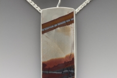 Fandango desert rock pendant with spessartite