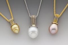 Sigma pearl pendants
