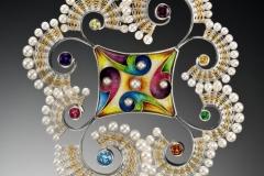 Fandango pin/pendant