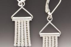 Hangers silver leverbacks