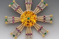 Mandala pin/pendant